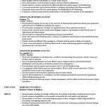 Business Analyst Resume Associate Business Analyst Resume Sample business analyst resume|wikiresume.com
