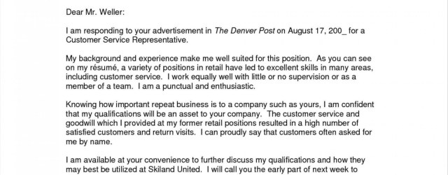 Cover Letter Example Teacher  Cover Letter Example No Experience Valid Experience Sample Cover