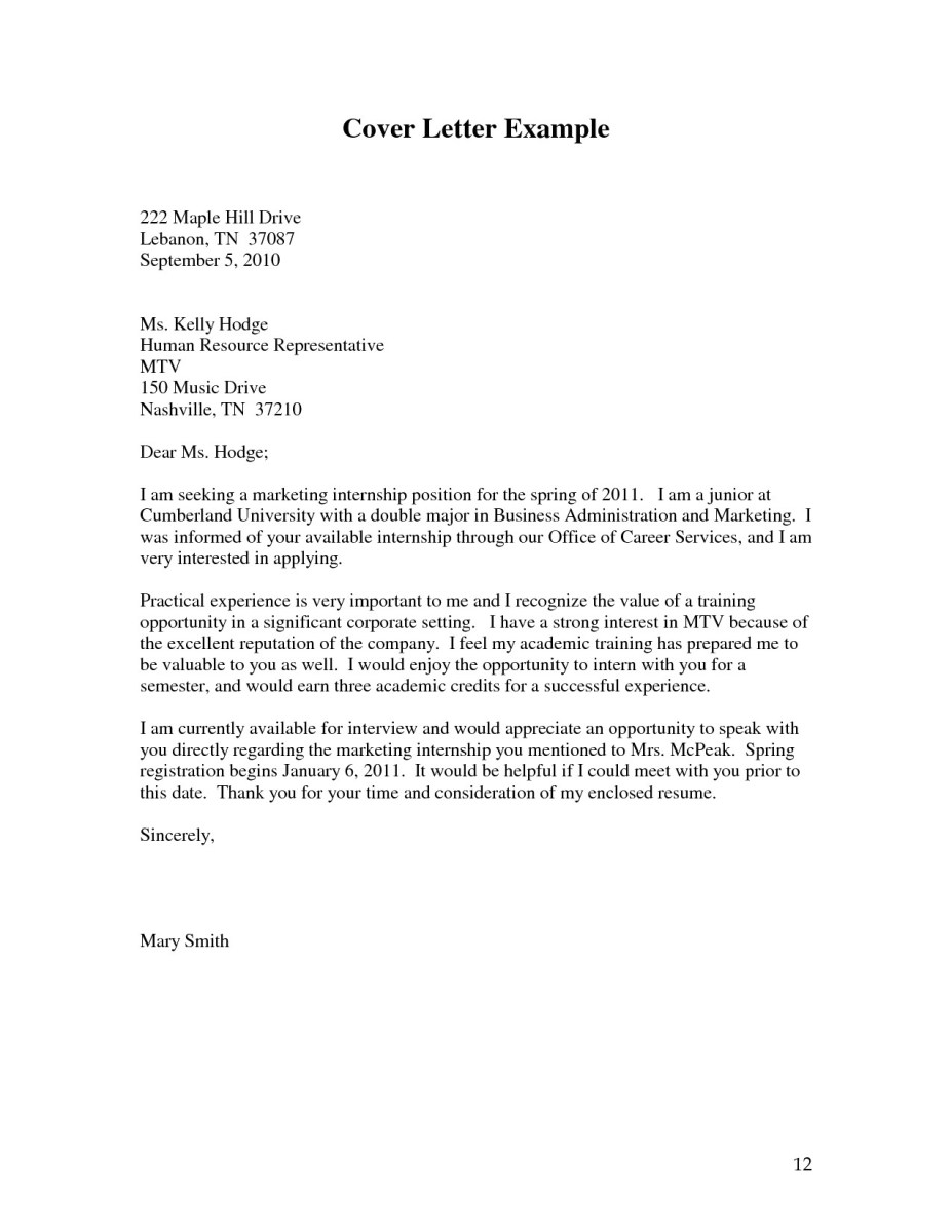Cover Letter Examples Templates Cover Letter Example Template cover letter examples templates|wikiresume.com