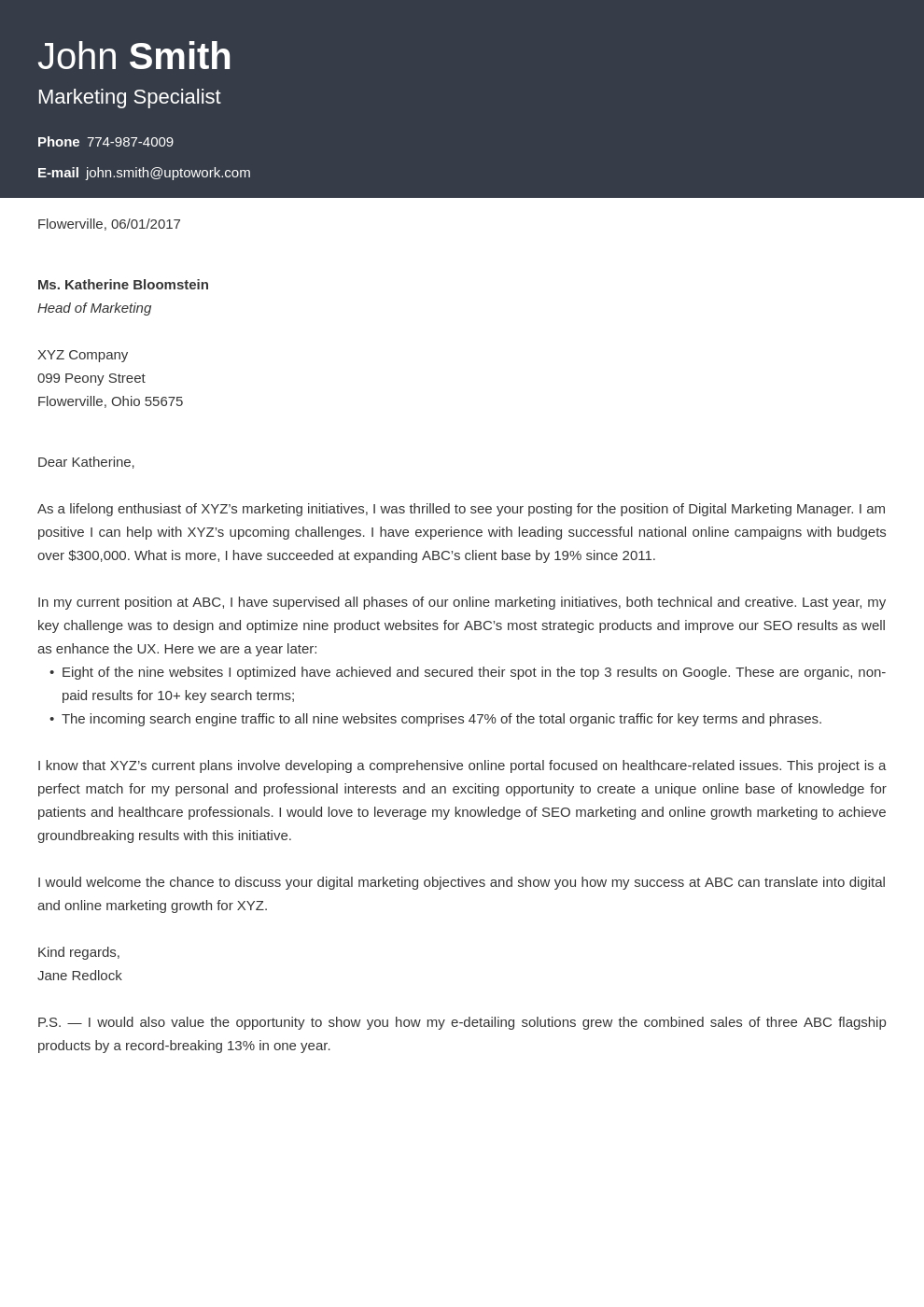 Cover Letters Template  Cover Letter Builder Online Get A Job Winning Cover Letter In Minutes