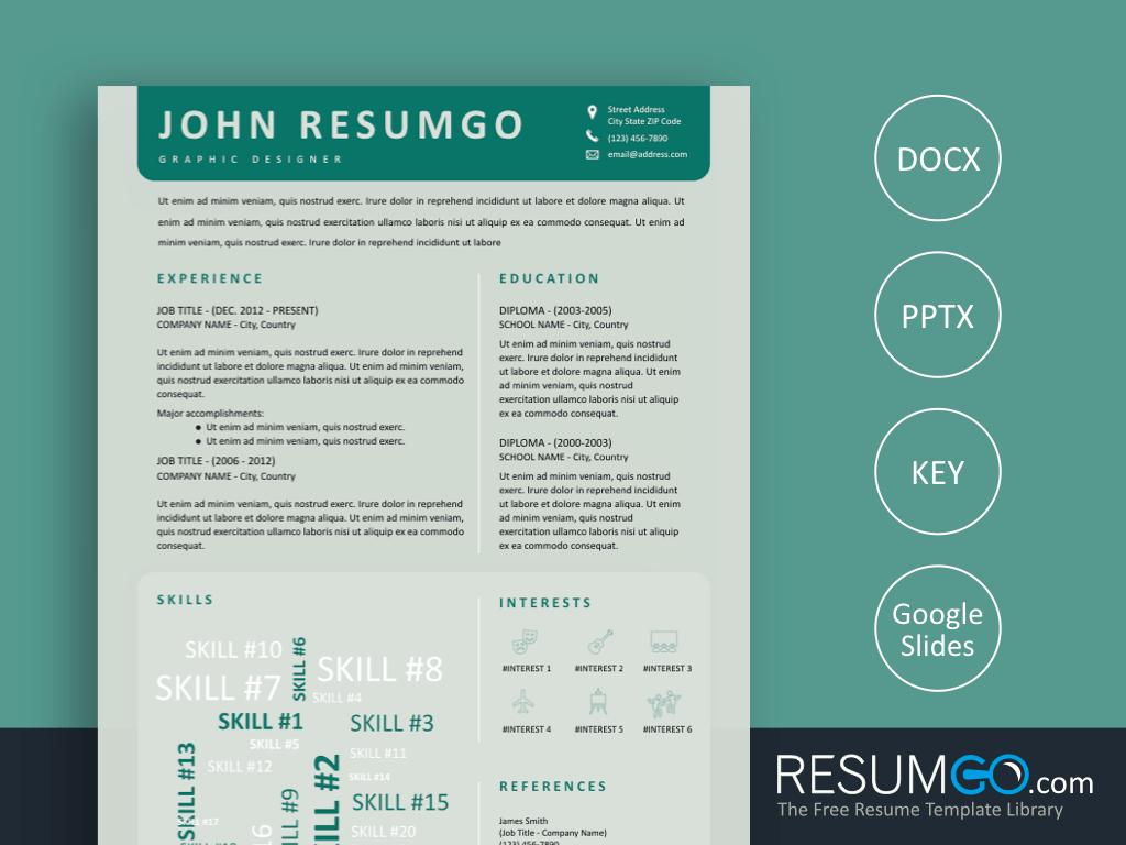 Creative Resume Template Free Klytie Free Creative Resume Template With Word Cloud Resumgo creative resume template free|wikiresume.com