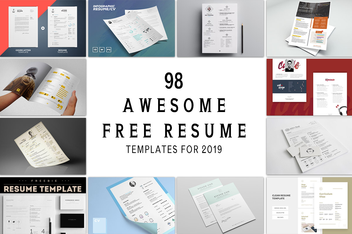 Free Resume Template 98 Awesome Free Resume Templates For 2019 free resume template|wikiresume.com