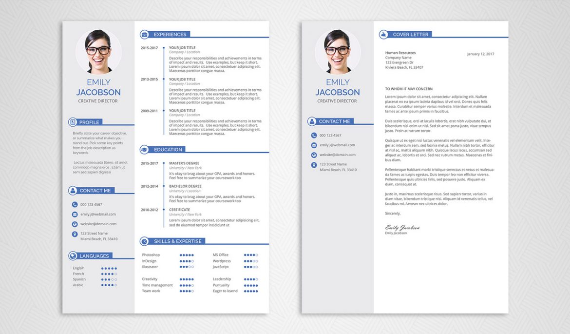 Free Resume Template Free Cv Template 1 1170x685 free resume template|wikiresume.com