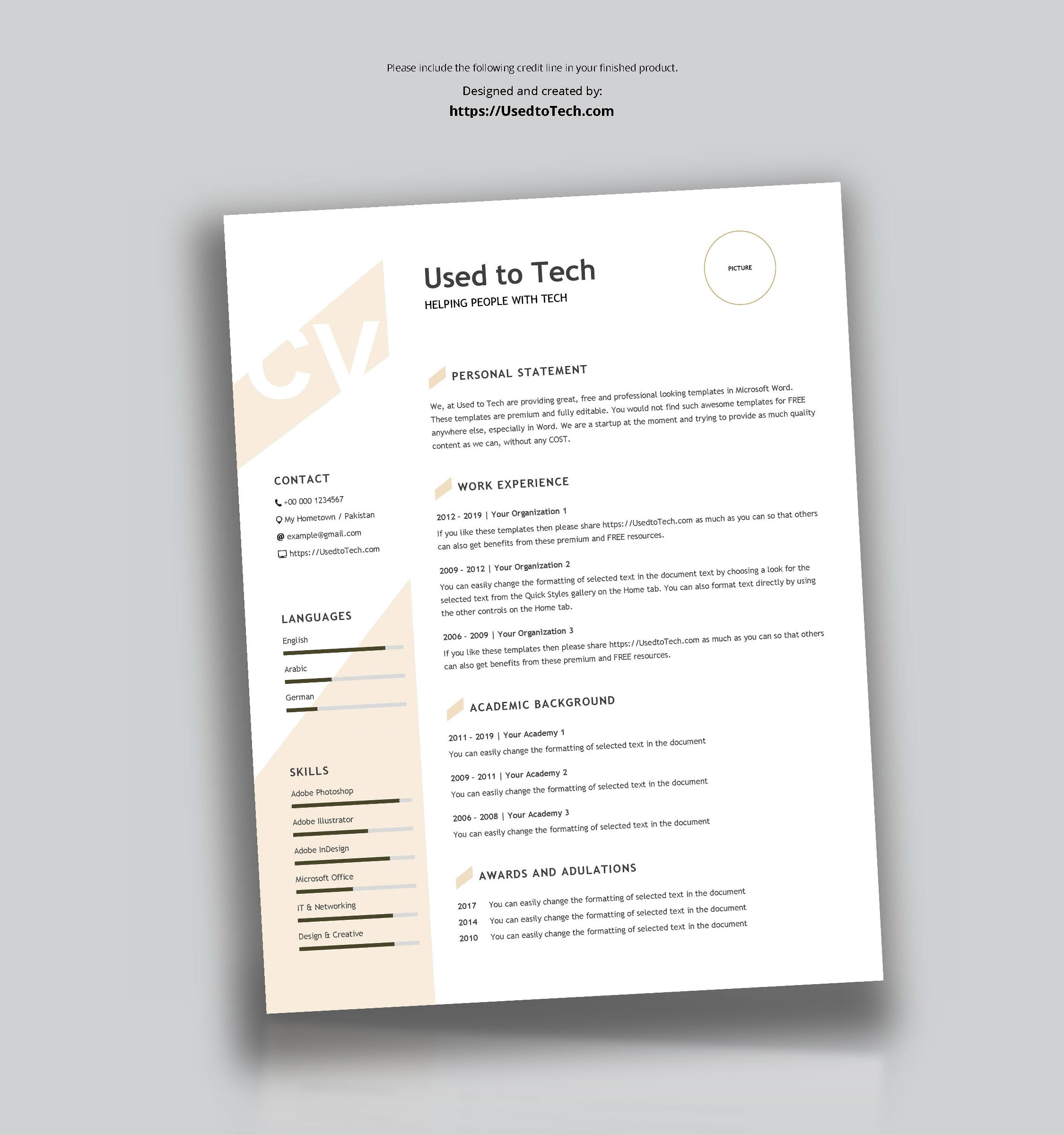 Free Resume Templates Microsoft Word 03 Modern Resume Template In Word free resume templates microsoft word|wikiresume.com