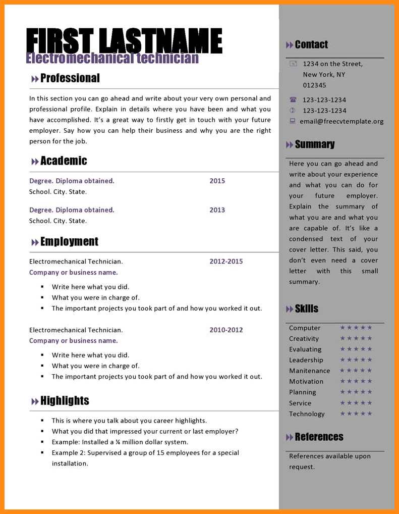 Free Resume Templates Microsoft Word Download Free Cv Template Microsoft Word Free Curriculum Vitae Templates To Resume Template Microsoft Word Download Amazing Free Resume Template Download free resume templates microsoft word|wikiresume.com
