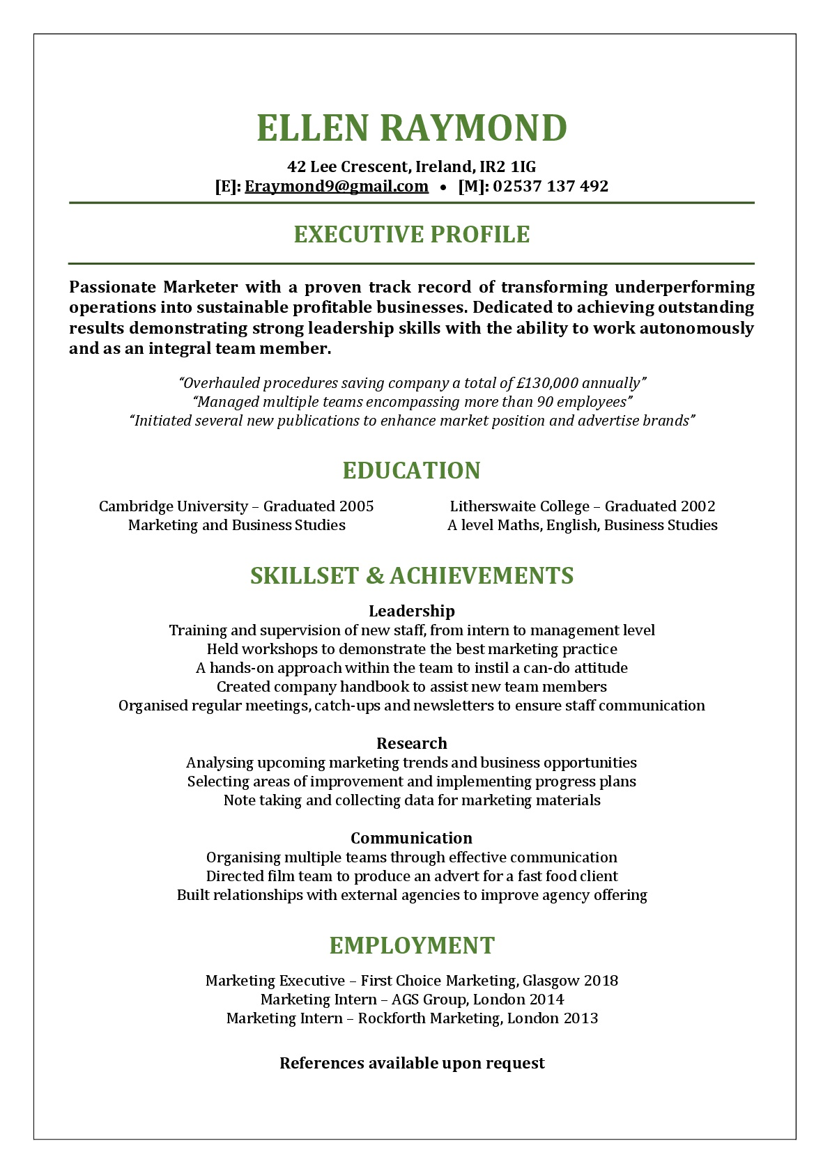 Functional Resume Template Functional Resume Template Image functional resume template|wikiresume.com