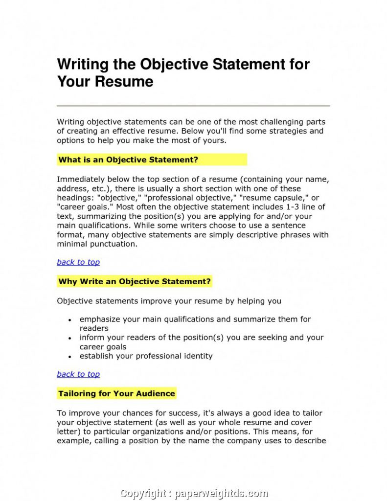 Good Objective For Resume Objective For Resume Examples Administrative Assistant Statement Teacher Graduate School General 791x1024 good objective for resume wikiresume.com