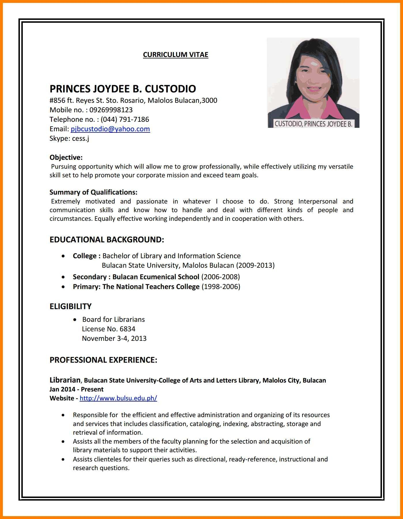 How To Do A Resume Cover Letter How To Make Resume For Job Application Free With No Experience Write Cv An At How Do I Do A Resume how to do a resume|wikiresume.com