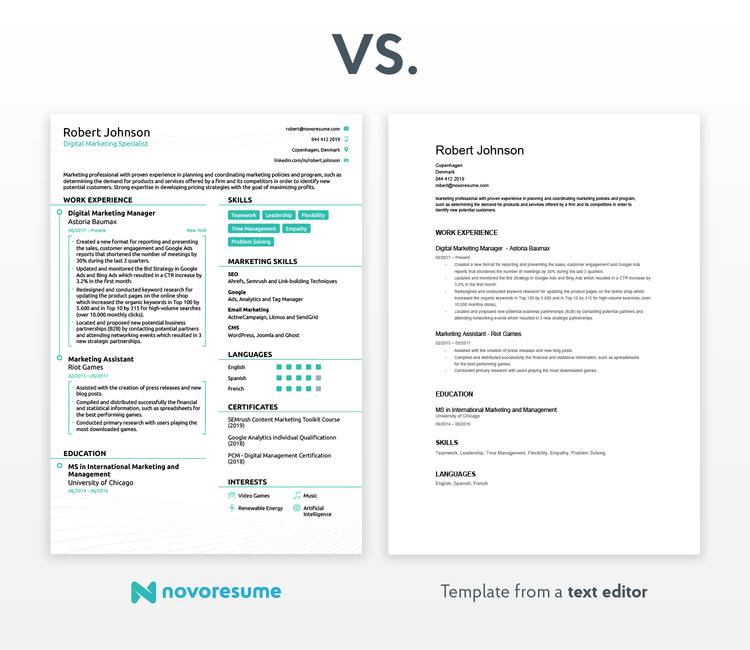 How To Write A Resume For A Job Modern Template how to write a resume for a job wikiresume.com