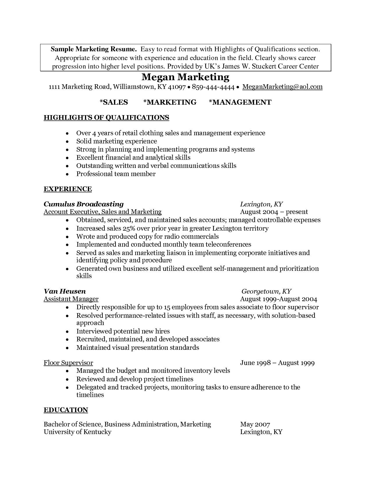 Marketing Resume Examples  Creative Marketing Resume Examples Unique Photography How To Do A Cv