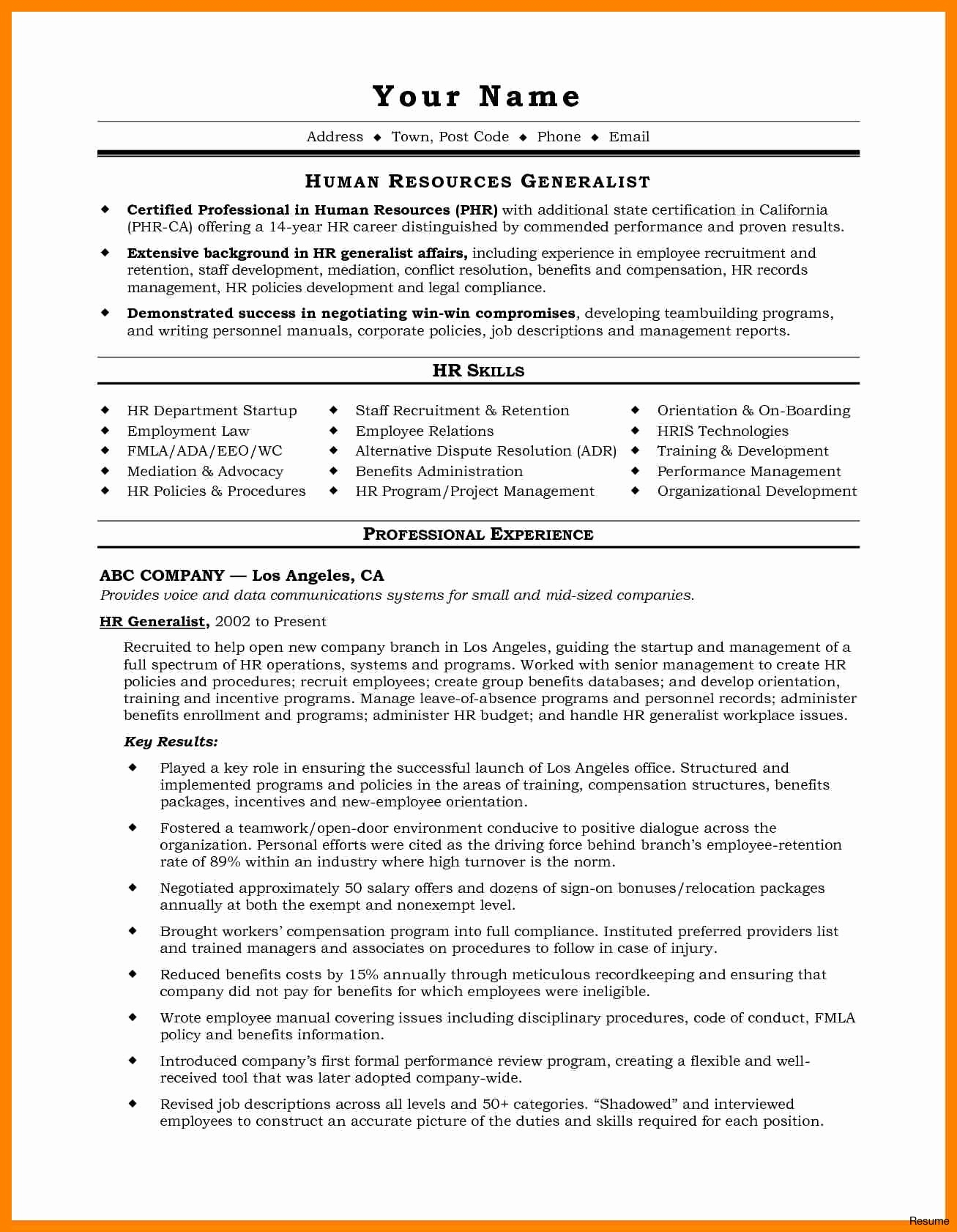 Marketing Resume Examples  Director Of Operations Resume Examples Lovely Email Marketing Resume