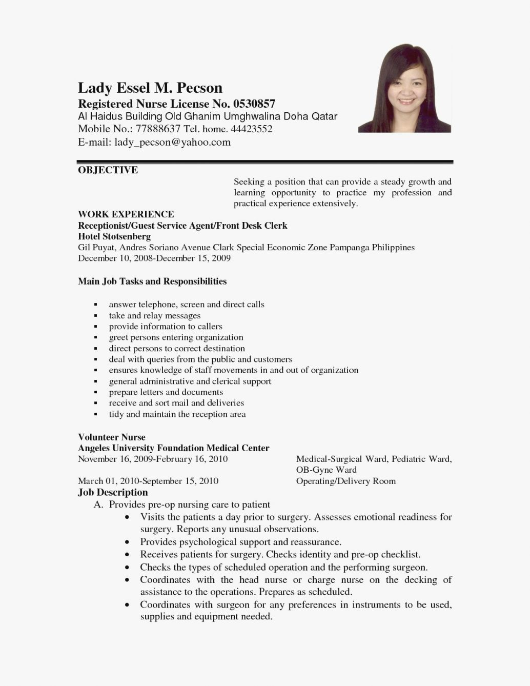 Objective For Resume Job Objective In Resumes Simple For Resume Fresh Good Objectives New Post Administrative Assistant Effective Objecti Customer Service Career Call Center General Phlebotomist Teac objective for resume|wikiresume.com