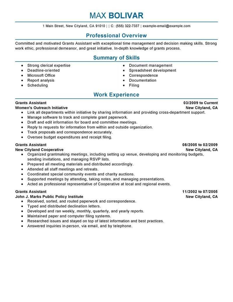 Things to Consider in Making a Perfect Resume Example ...
