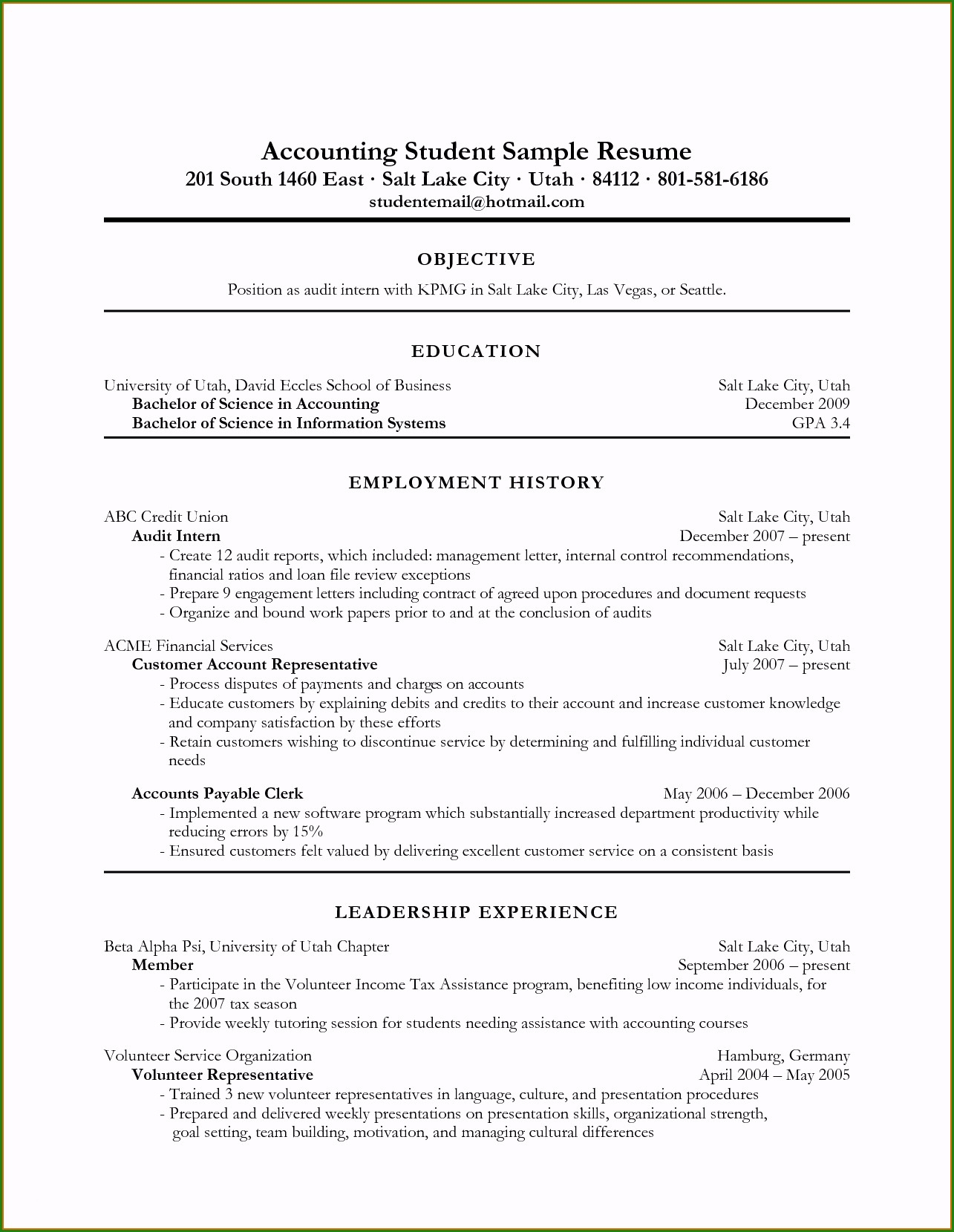Resume Objective Examples  How To Put An Internship On A Resume Sample Fabulous 11 Intern
