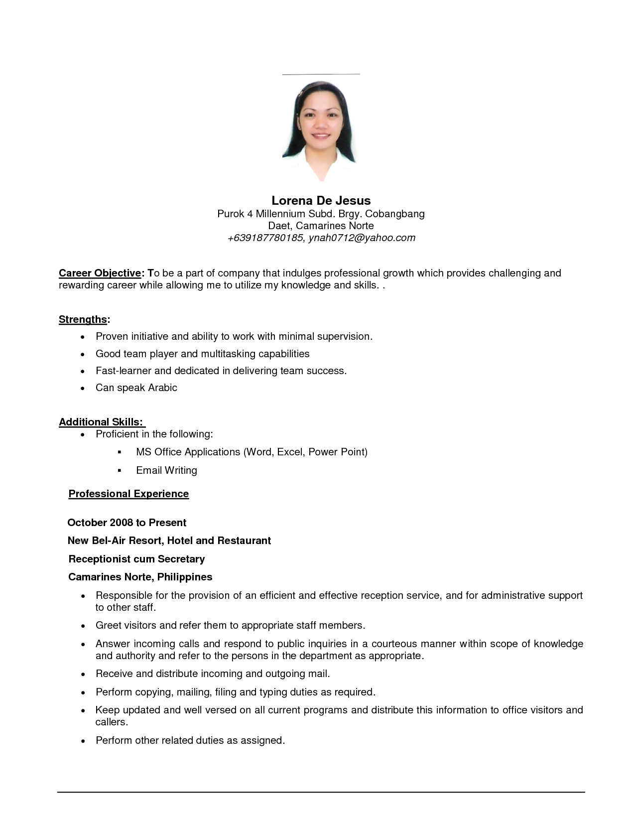 Resume Objective Examples  Job Resume Objective Examples Drupaldance E280a2 Aceeducation With