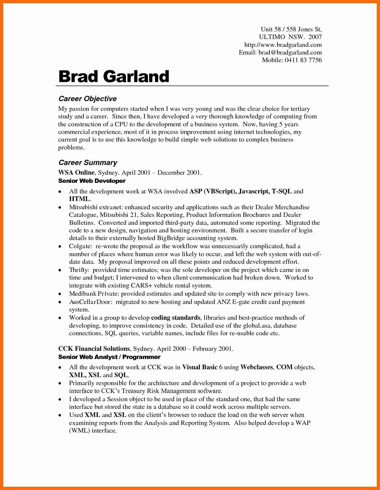 Resume Objective Examples  Sample Resume Objectives Career Change Career Change Resume Objective