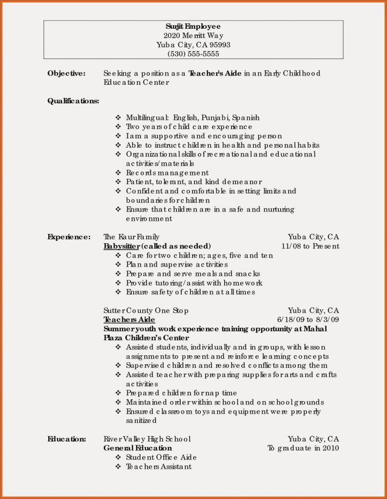 Resume Objective Statement Resume Sample General Valid Early Childhoodation Samples Objective Statement Good Objectives For 794x1024 resume objective statement wikiresume.com