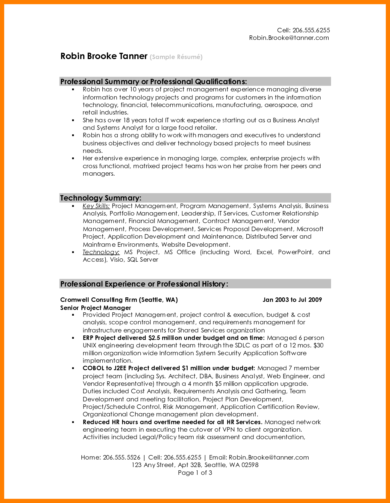 Resume Summary Examples 8 Resume Summary Examples For Retail Letter Signature