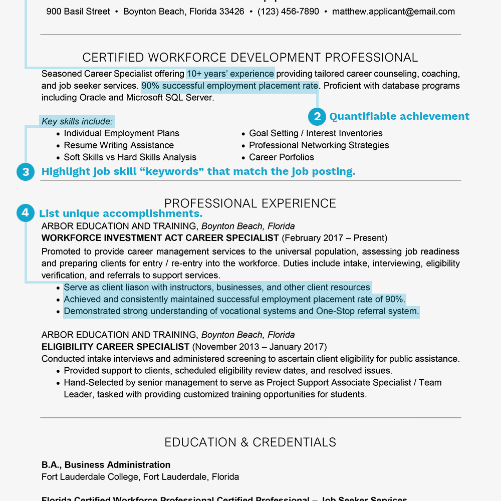 Resume Summary Examples How To Write A Resume Summary Statement With Examples