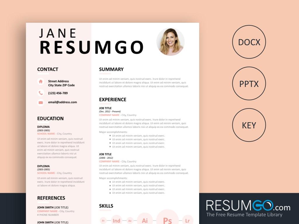 Resume Template Free Eudora Free Resume Template Resumgo resume template free|wikiresume.com