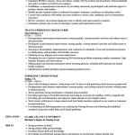 Sample Nursing Resume Emergency Room Nurse Resume Sample sample nursing resume|wikiresume.com