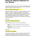 Sample Objective For Resume Objective For Resume Best Best Objective For Resume Inspirational What To Write Objective Of Objective For Resume sample objective for resume wikiresume.com
