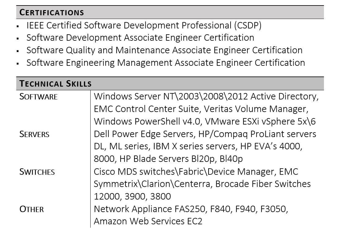 Skills For A Resume Technical Skills On Resume Example skills for a resume wikiresume.com