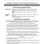 Skills To Put On A Resume Receptionist skills to put on a resume|wikiresume.com