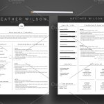 Two Page Resume Heather 2 Page Resume Style 1a two page resume wikiresume.com