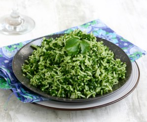 Mexican Green Rice : Full Recipe