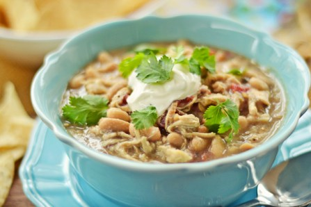 white chicken chili crockpot recipe