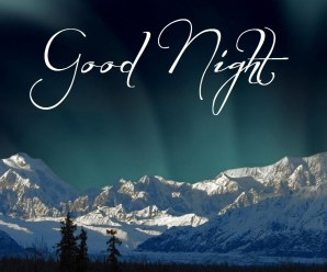 Good Night SMS, Messages For Friends/Family