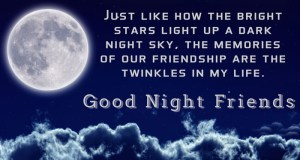 Special 35+ Good Night Quotes For Friends