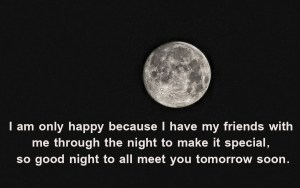 Special Good Night Quotes For Friends