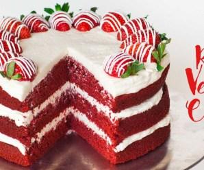 Red Velvet Cake with Full Recipe