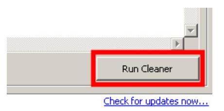 Run CCleaner