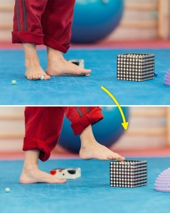 rotate your feet in both directions