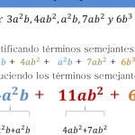 Suma resta algebraica