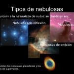 Los tipos de nebulosas