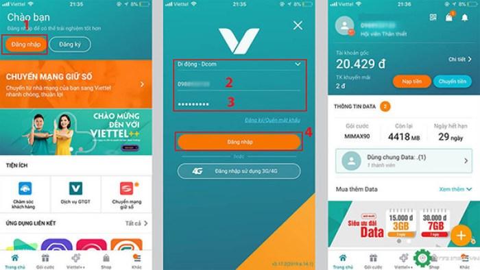 Theo dõi tin nhắn điện thoại bằng ứng dụng my Viettel - Ảnh 4