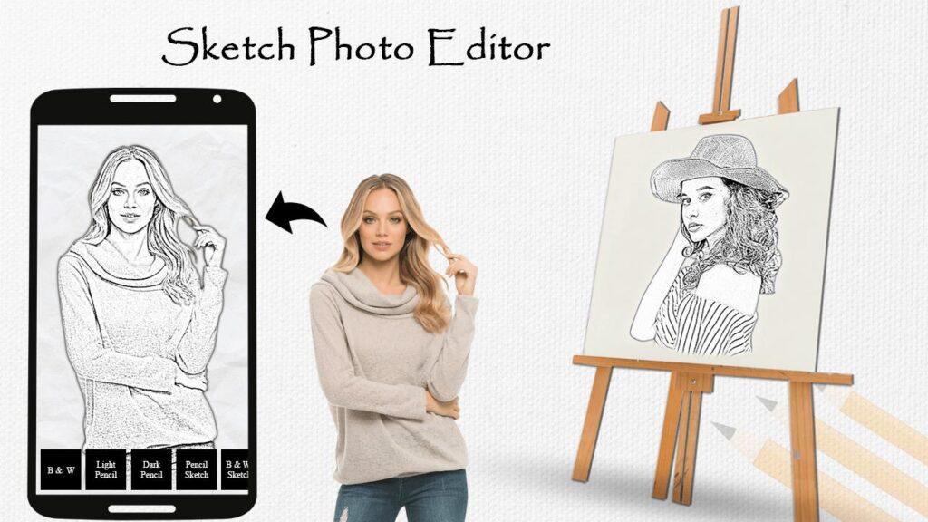 app chuyển ảnh thành tranh vẽ - Sketch Master