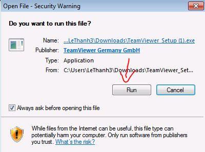 Hướng dẫn cách sử dụng teamviewer trên máy tính