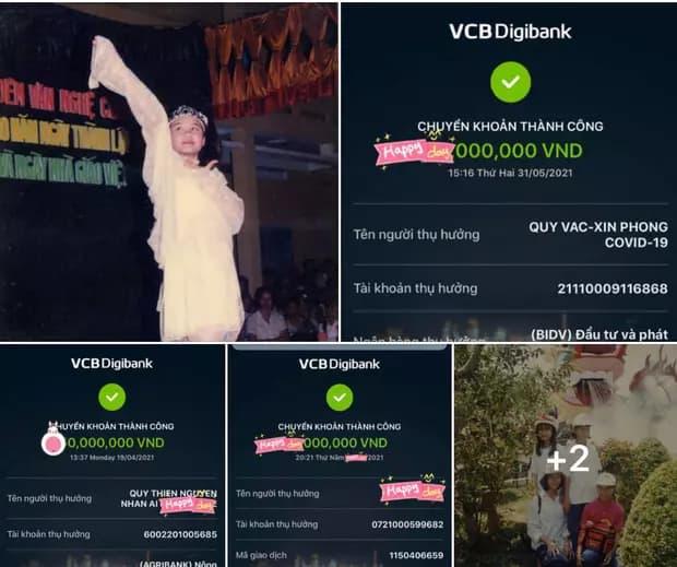 Nghi vấn Vy Oanh đăng sao kê từ thiện fake