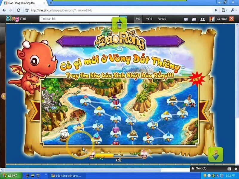 Đảo rồng Zing Me