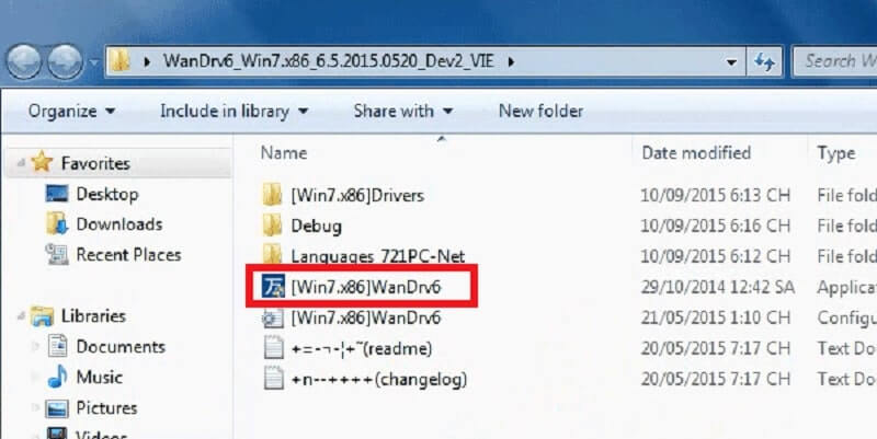 Phần mềm WanDriver