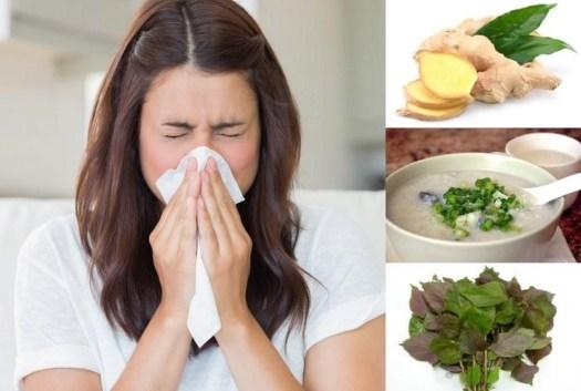 Bài thuốc điều trị bệnh cảm lạnh