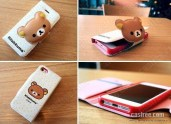 Rilakkuma-leather-case-for-iphone-5-white-03