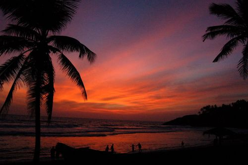 The world famous Kovalam beach, well known for fun and frolic, Image Credit: http://wikitravel.org/en/Kerala