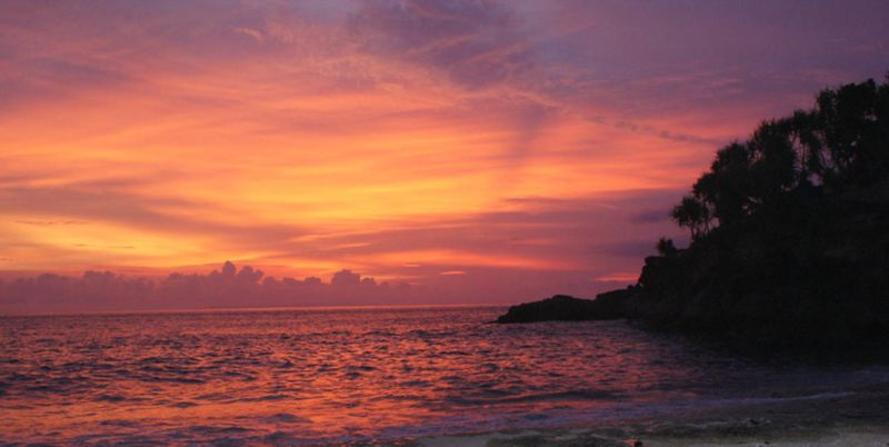 File:Lembongan Sunset.jpg