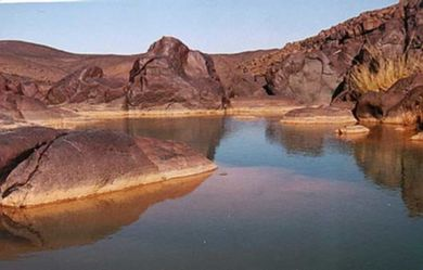 A Guelta In The Adrar Des Ifoghas